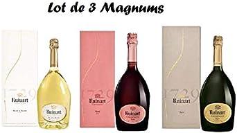 Lote 3 Magnum Ruinart con caja: Amazon.es: Alimentación y bebidas
