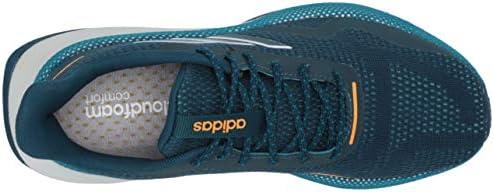 adidas Women's NOVA Run X Track and Field Shoe, Tech Mineral/Tech Mineral/Active Teal, 6.5 Standard US Width US