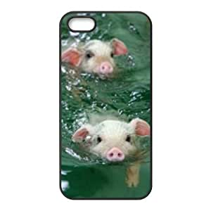 Cool Painting Pig Personalized Cover Case for Iphone 5,5S,customized phone case case697989