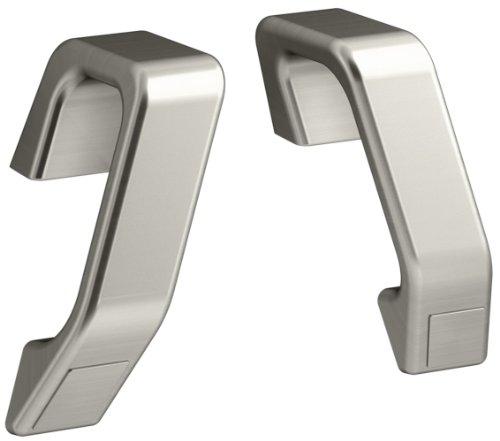 KOHLER K-9621-BN Maestro Hand Grip Rails, Vibrant Brushed Nickel