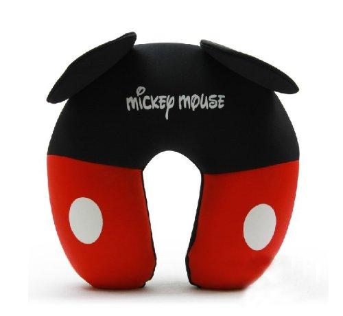 G/én/érique Confort Particules de Mousse U Cou Oreiller de Voyage Mignon Dessin anim/é Motif Mickey Mouse