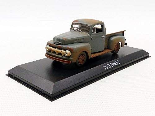 Greenlight 1:43 Gump (1994) -1951 Ford F-1 Truck Forrest, Run (86514) Die-Cast Vehicle