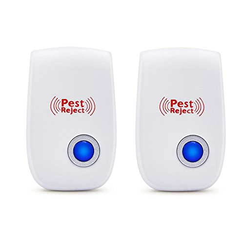 MAZU Powerful Indoor Plug-in Pest Repeller with All Types of Insects and Rodents Pest Control Eliminator Very Effective Rodent Deterrent Pest Control- Innovative (2) by MAZU