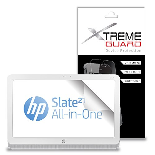 XtremeGuardTM Tablet Screen Protector for HP Slate 21 Pro (Ultra Clear)