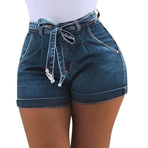 VEZAD New Short Jeans Women Summer Denim Female Pockets Wash Denim Shorts