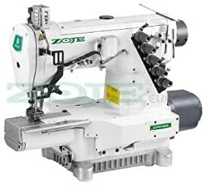 ZOJE Coverlock Máquina de coser industrial Interlock ...