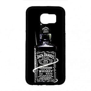 Samsung Galaxy S6 Whisky Brand Jack Cover,Jack Logo Samsung Galaxy S6 Funda,Luxury Logo Funda