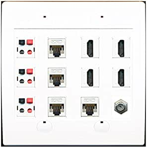 Cat 5 Cable Wiring Diagram T568a furthermore Cat 5 Cable Wiring Diagram T568a besides Wall Plate 4 Port Ether  Switch further 1 FT Cat5e Ether  Patch Cable No Boot Black in addition Tia 570 B Wiring Diagram. on cat 5 ethernet wall plate