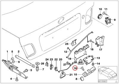 e46 door panel screws - 7