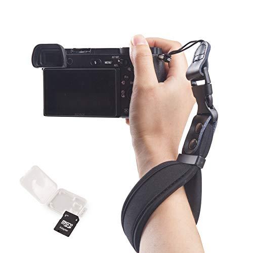 Camera Wrist Strap Extra Padded Super-Thick Comfortable Camera Hand Belt