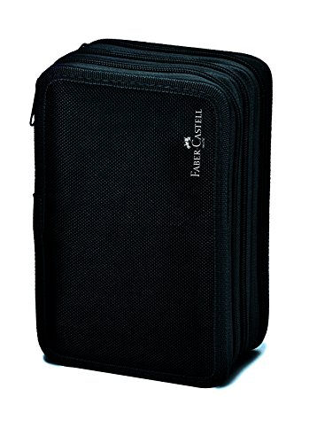 Faber-Castell 570099 Pencil Case, Black (Faber Castell Box)
