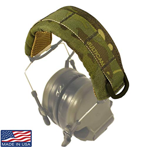 U.S. Tactical Sewing USTS Advanced Modular Headset Cover (Multicam Tropic)