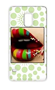 Candy Red TPU Protective Hard Case For Sumsang Galaxy S5 Miscellaneous Art Design
