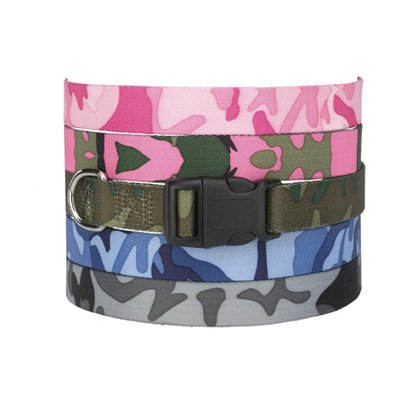 Camo Collar - Green Large