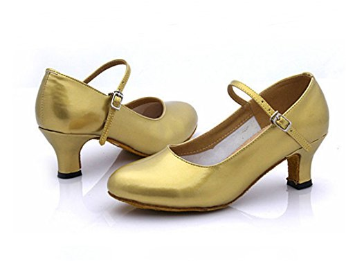 Talón Base Plaza Golden Blanda de Ruanlei shoes del Medio xORfYvwA