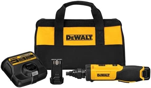 DEWALT 8V MAX Cordless Screwdriver with Conduit Reamer, Gyroscopic DCF681N2