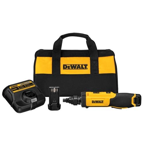 DEWALT DCF681N2 8V Max Gyroscopic Screwdriver with Conduit Reamer (Dewalt Power Tool Screwdriver)