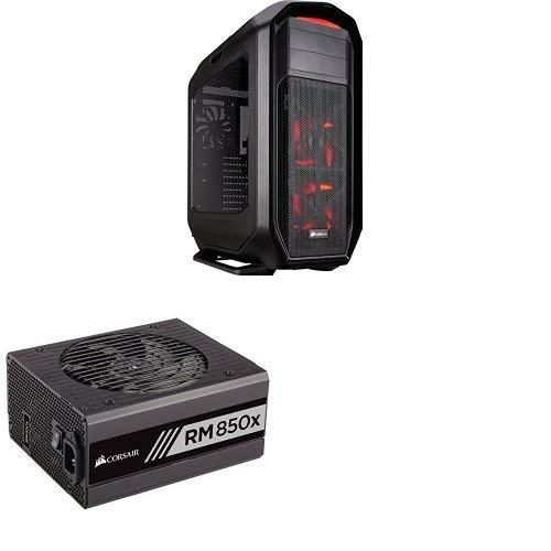 (Corsair Graphite Series 780T Full Tower PC Case - Black and Corsair RMx Series RM850x 80 PLUS Gold Fully Modular ATX Power Supply)