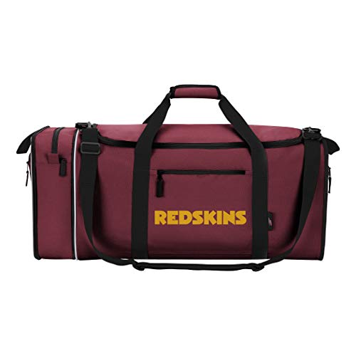 The Northwest Company NFL Washington Redskins NFL Steal Duffel, Burgundy, Measures 28'' in Length, 11'' in Width & 12'' in Height by The Northwest Company