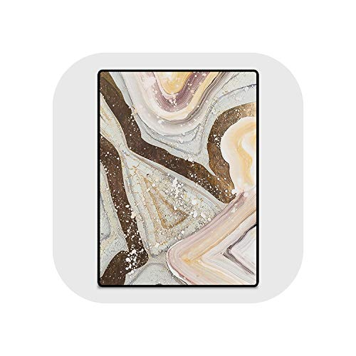 Fashion Nordic Style Gold Abstract Lines Stone Pattern Carpet Rugs and Carpets for Home Living Room Carpet Kids Room,1,80cmX120cm
