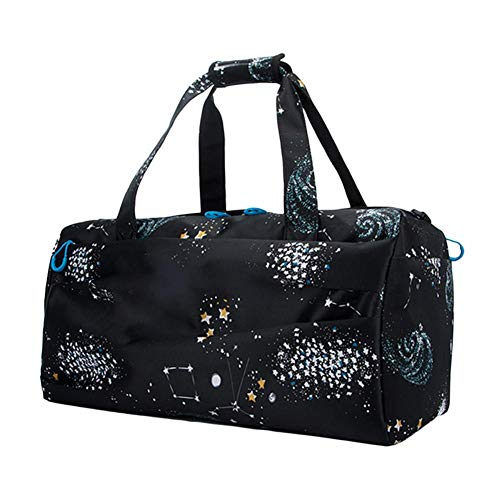bcad312793 Fitness Gym Bag with Shoes Compartment Waterproof Sport Travel Bag Wet Dry  Separation Sports Travel Bag
