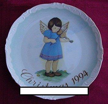 Schmid Hummel Christmas Plate - Schmid ** Heavenly Meoldy - 1994 Christmas Plate ** 94SC-90