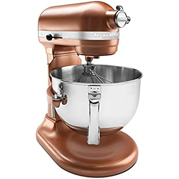 Amazon Com Kitchenaid Ksm152pscp 5 Qt Custom Metallic