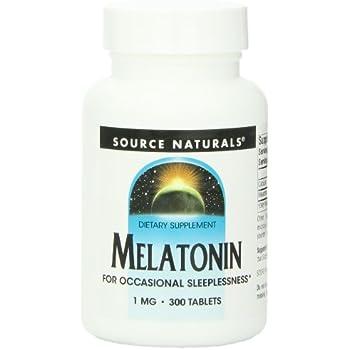 Source Naturals Melatonin, 300 Tablets
