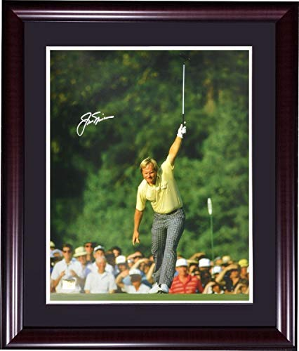 Jack Nicklaus Autographed Signed 1986 Masters 16x20 Photo Framed Autograph Holo Authentic