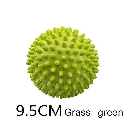 New Style Hard Spiky Massage Ball PVC Premium Massage Balls Health & Household,Health Care Massage Tool Spiky Massage Ball(1 Ball In Packet) (9.5cm, Grass green)