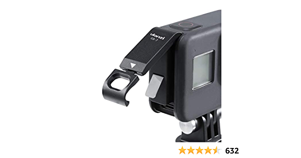 Ulanzi G8-7 Battery Cover Removable Type-C Charging Port Adapter Aluminum Alloy for GoPro Hero Black 8