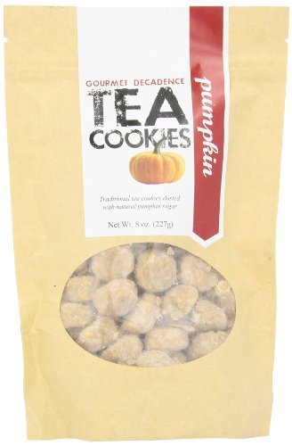 UPC 023882009565, The Famous Pacific Dessert Company Tea Cookies, Pumpkin Decadence, 8-Ounce (Pack of 4)
