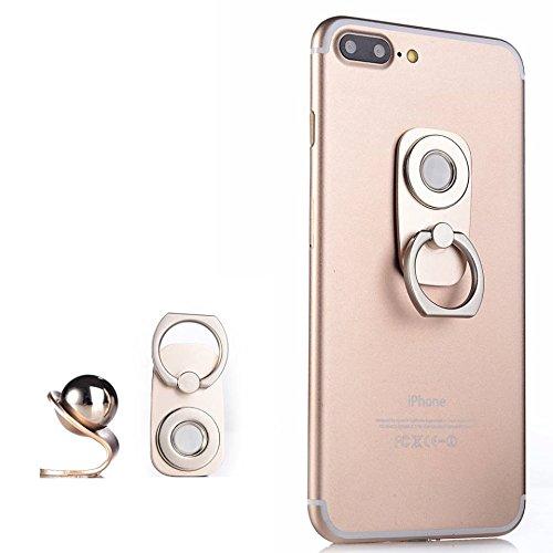 Mobile Phone Magnetic Holder, 2 in 1, Finger Ring Grip, Magn