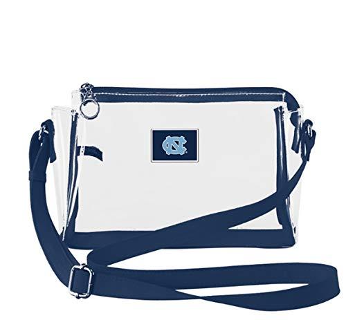 SANDOL North Carolina Tar Heels Stadium Approved Clear Crossbody Handbag