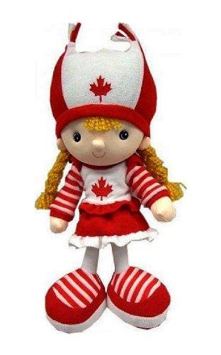 Canada Girl Kickin' Plush Doll.. 15