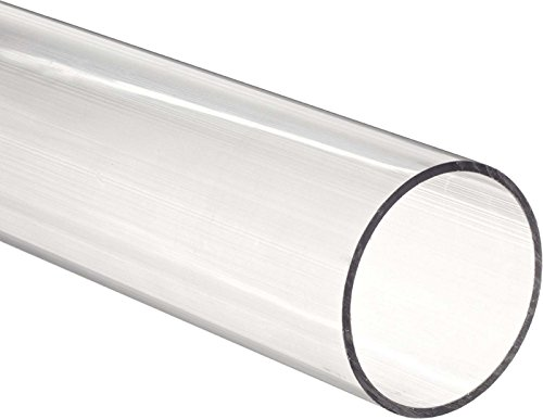 Clear acrylic Plastic Plexiglass Pipe tube 3
