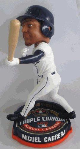 Detroit Tigers Miguel Cabrera Triple Crown Bobblehead