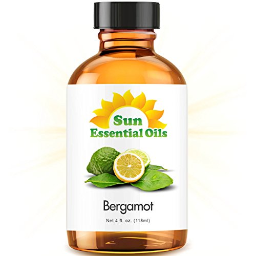 Bergamot (Large 4 Ounce) Best Essential Oil (Shaving Lemon Essential Oil)
