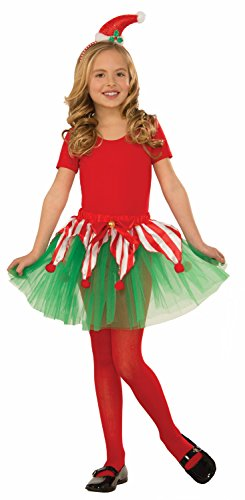 Forum Novelties Toddler Candy Cane Tutu Costume, One