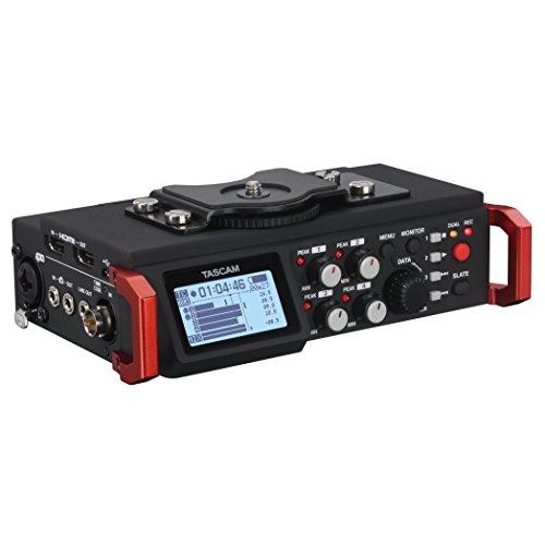 Tascam DR-701D Linear PCM Recorder/Mixer for DSLR Camera