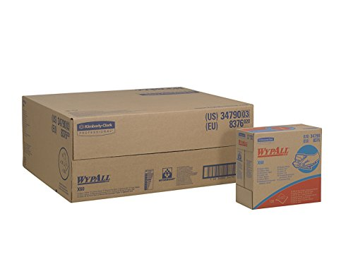 Cloths (34790) in Convenient Pop-Up Box, White, 10 Boxes/Case, 126 Sheets/Box ()