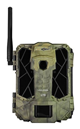 SPYPOINT Link-Dark Cellular Trail Camera, Wireless via Link App or Cell Provider, Invisible LEDs, Blur Reduction&IR Boost Tech, 2' Screen, 0.07s Trigger, 100' Detection&80' Flash (Verizon Version)