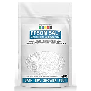 Organix Mantra Epsom Bath Salt, For Muscle Relief, Relieves Aches & Pain, 1kg