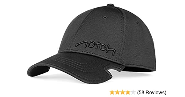 Notch Classic Stretch Fit Black Cap at Amazon Men s Clothing store  13845c55778