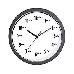 CafePress Time-ish Clock Wall Clock - Standard Multi-color