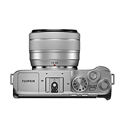 "Fujifilm X-A7 24.2 MP Mirrorless Camera with XC 15-45 mm Lens (APS-C Sensor, Large 3.5"" Vari-Angle Touchscreen, Face/Eye Auto Focus, 4K Video Vlogging, Blur Control, Film Simulations) - Silver 7"