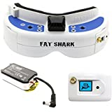 Fat Shark FSV1063-04 Dominator V3 FPV Goggles RTF Bundle(with FSV2446 OLED Receiver)