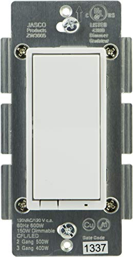 - Jasco In-Wall Smart Dimmer (45712)