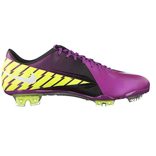 知的混乱させる下品Nike Mercurial Vapor VII FG Mens Soccer Cleats(Red Plum/Windchill-Volt-Black)/サッカースパイク マーキュリアル ヴェイパーVII FG