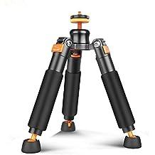 Bestshoot Desktop Mini Tripod Load 3KG Universal 3 Legs Monopod Base Stand Unipod Support for Canon 60D 60D 5D Nikon D90 Sony A58 A7RII DSLR Cameras Video Micro Shooting